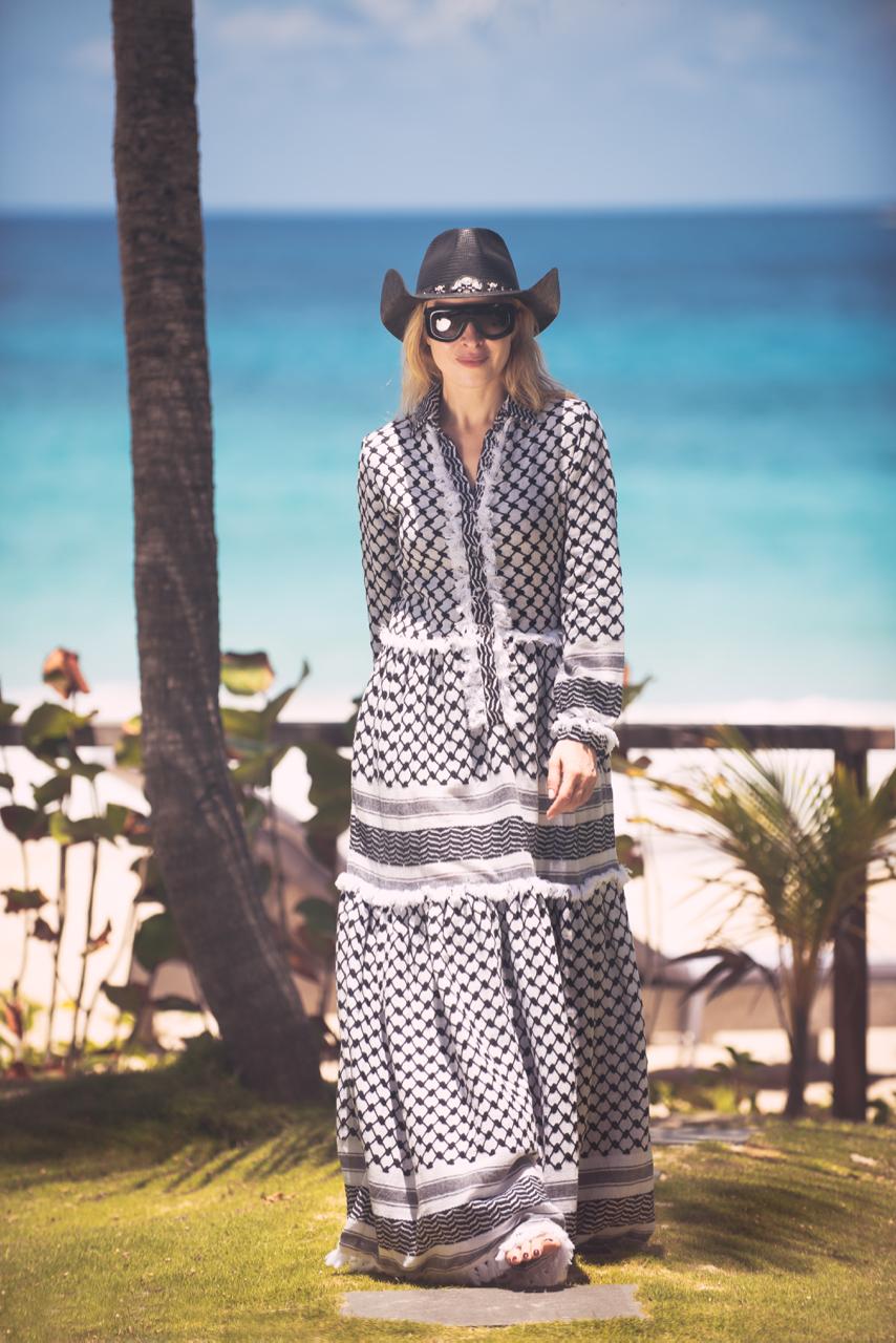 Tasseled Maxi Dress for Sun Sensible Lifestyle
