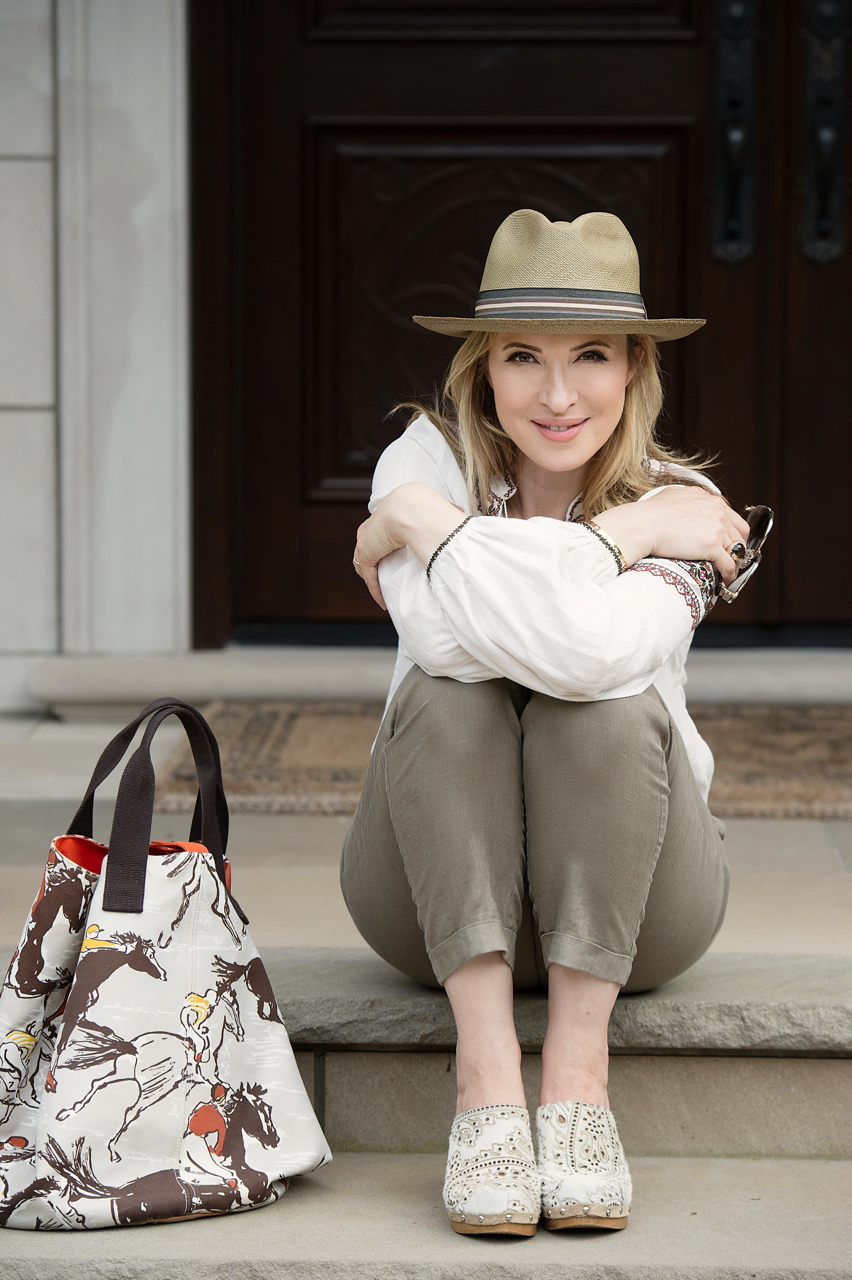 Boho Chic Sun-Safe Outfit for Sunday