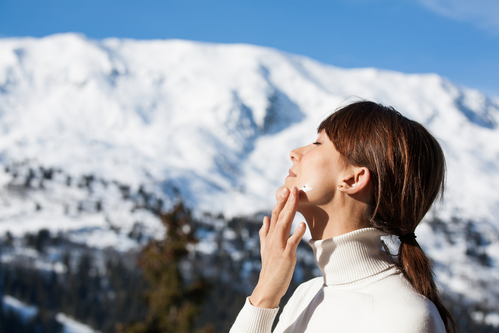 Why You Should Wear Sunscreen in the Winter, Too